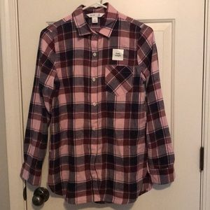 Old Navy woman's tunic flannel XS